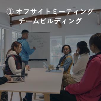 オフサイトミーティングチームビルディング